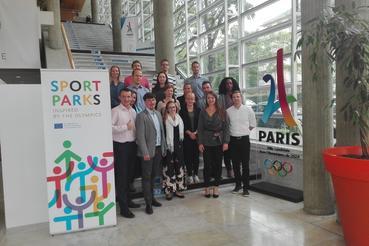 Sport Parks meeting in Paris
