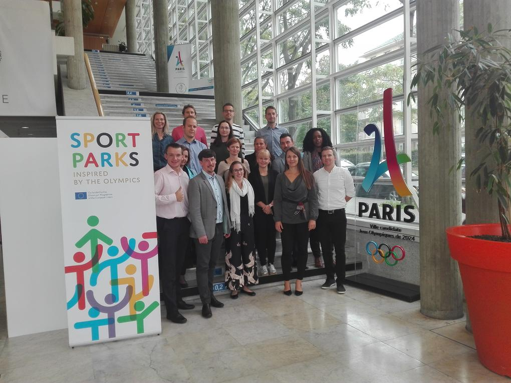 Sport Parks meeting in Paris